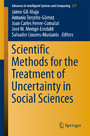 Scientific Methods for the Treatment of Uncertainty in Social Sciences